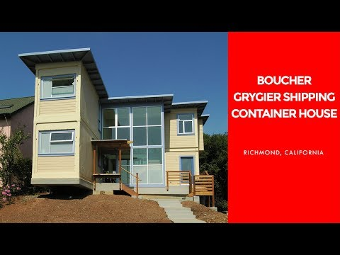 Boucher Grygier Shipping Container House in California