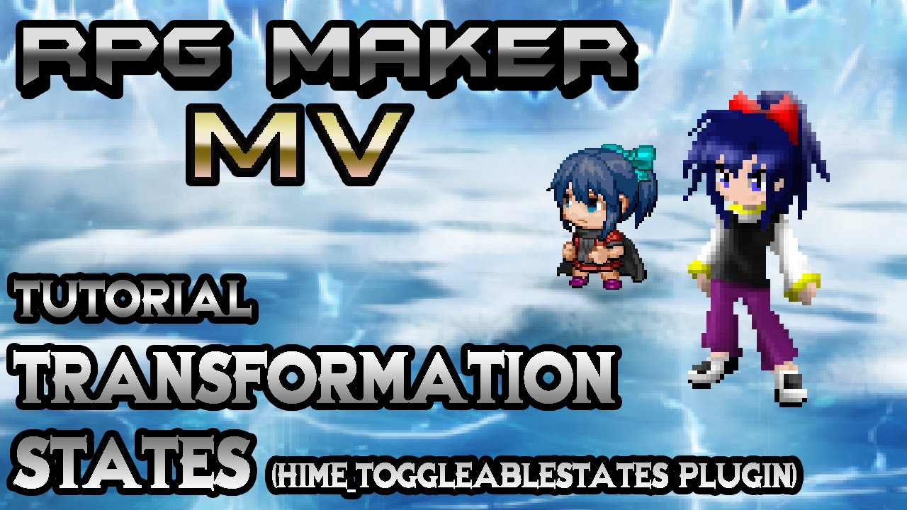 RPG Maker MV Tutorial: Chibi State! Transformation Status  (HIME_ToggleableStates Plugin)