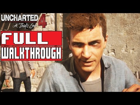 Uncharted 4 Gameplay Walkthrough Part 1 FULL GAME 1080p No Commentary (Chapter 1-23)