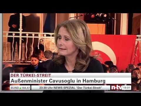 Türkischer Außenminister Mevlüt Cavusoglu in Hamburg!