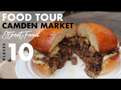 Street Food Camden Market Tour 10 Places To Try