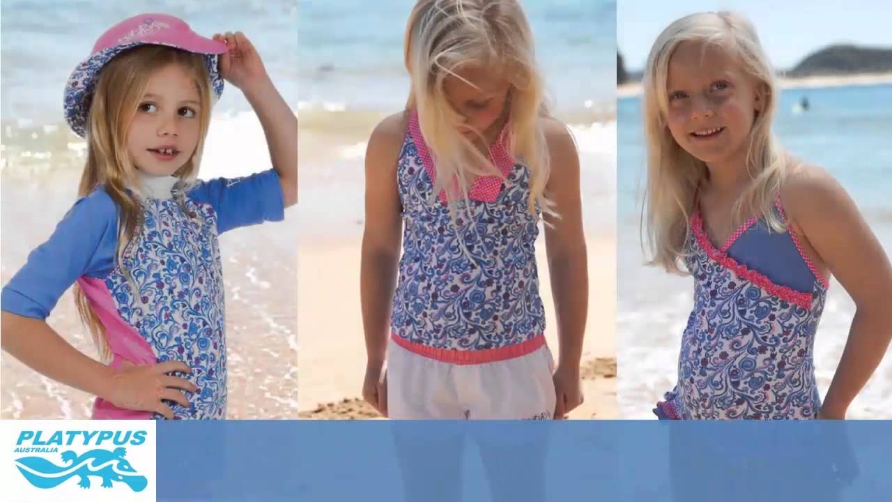 d2aeafeca0586 Swimwear From Platypus Australia - Providing Your Kids Complete Sun  Protection - YouTube