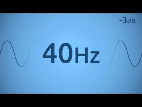 40 Hz Test Tone