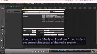This vid shows you that you can easily analyze and adjust loudness ...