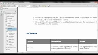 Business Objects Enterprise Security Hide folder and allow only Open Document