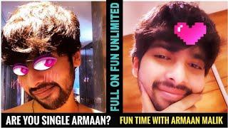 Gambar cover Are You Single Armaan - Fun Time With Armaan Malik    Full On Fun Unlimited    SLV2020