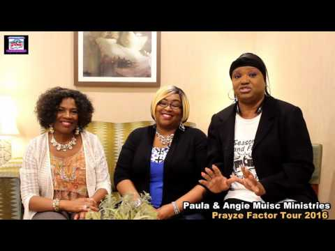 Urban Inspirations Show on Location with The Prayze Factor Tour Jacksonville FL PT 1