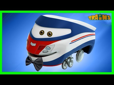Thumbnail: TRAINS Cartoon / New Episode / A brave act / Trains Cartoon Collection for Children