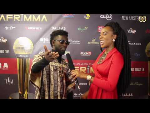 BISA KDEI INTERVIEW | RED CARPET | AFRIMMA 2016