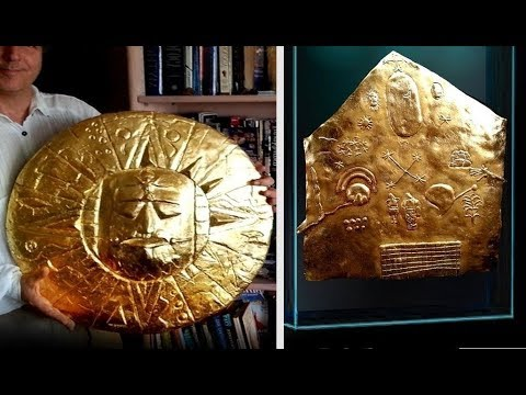 Ancient Inca Empire Star Map Was Found Buried On The Golden Temple In Peru