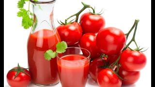 Best juice for weight loss - Natural homemade tomato drink for weight loss fast