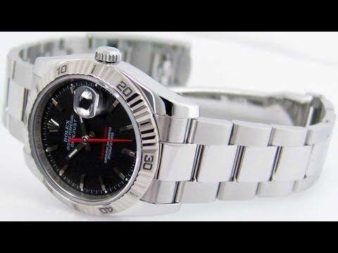 baf6ed87a20 Rolex Datejust Turn-o-graph Thunderbird 116264 Model Spotlight - YouTube
