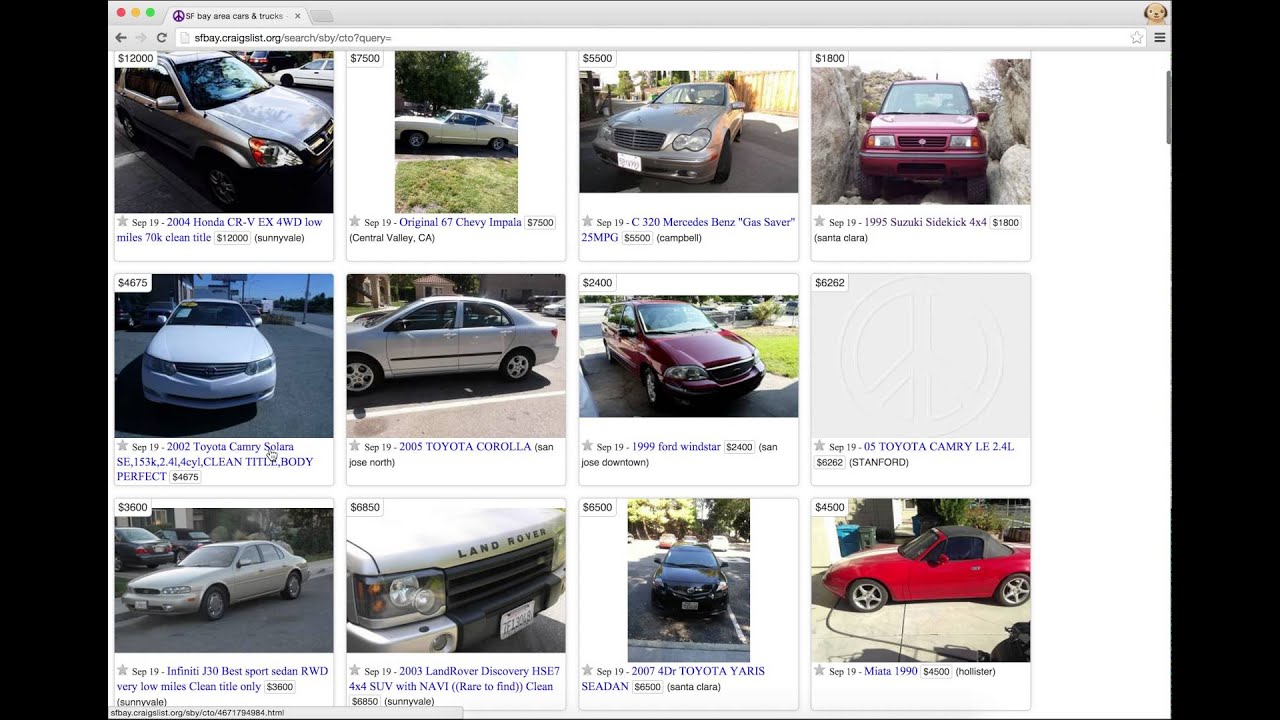 Kelley Blue Book for Craigslist - Chrome Extension