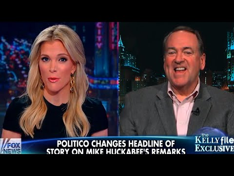 Megyn Kelly Drops Some Reality Sauce On Mike Huckabee's Head