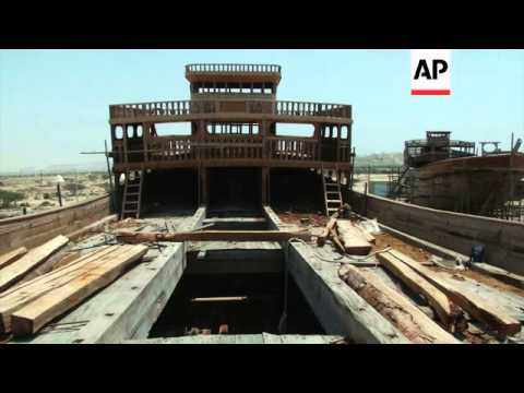 Iranians keep alive ancient tradition of hand-built ships