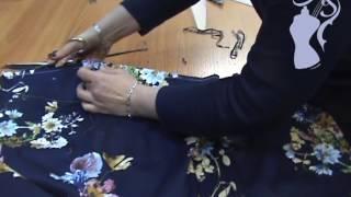 Юбка с крупными складками. Совместный пошив. Урок 5