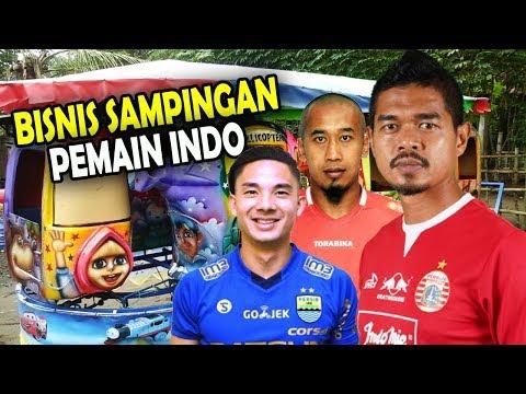 Odong-odong Hingga Warkop, 6 Pemain Bola Indonesia Ini Punya Bisnis Sampingan