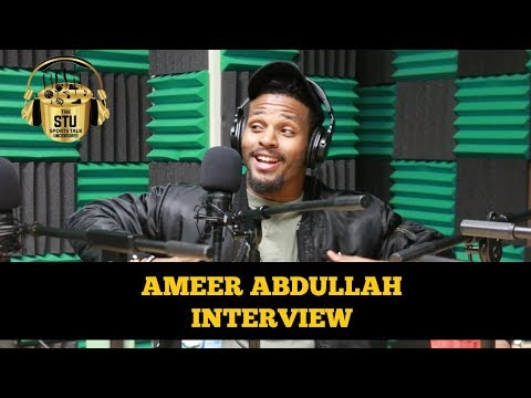Ameer Abdullah discusses the NFL and Detroit Lions