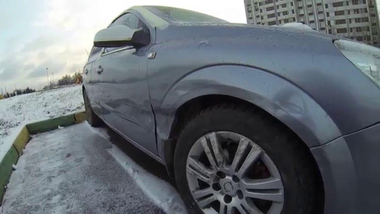 Opel astra H Последствие ДТП