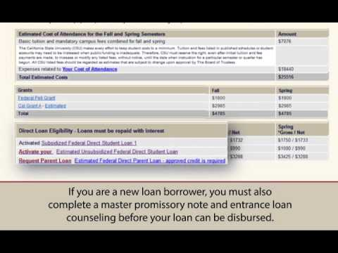 SDSU Financial Aid Disbursement - How and When You Get Your Money