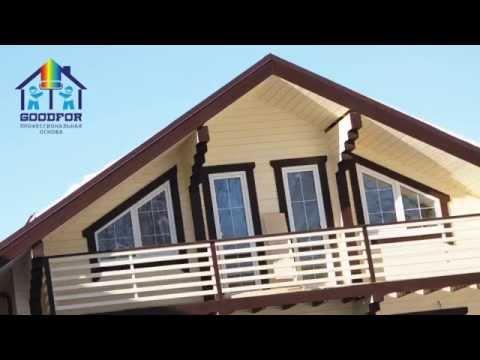 Ремонт и отделка дома из клеенного бруса