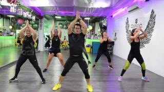 Bun It Up by Cesar James : Zumba Cardio Extremo Cancun
