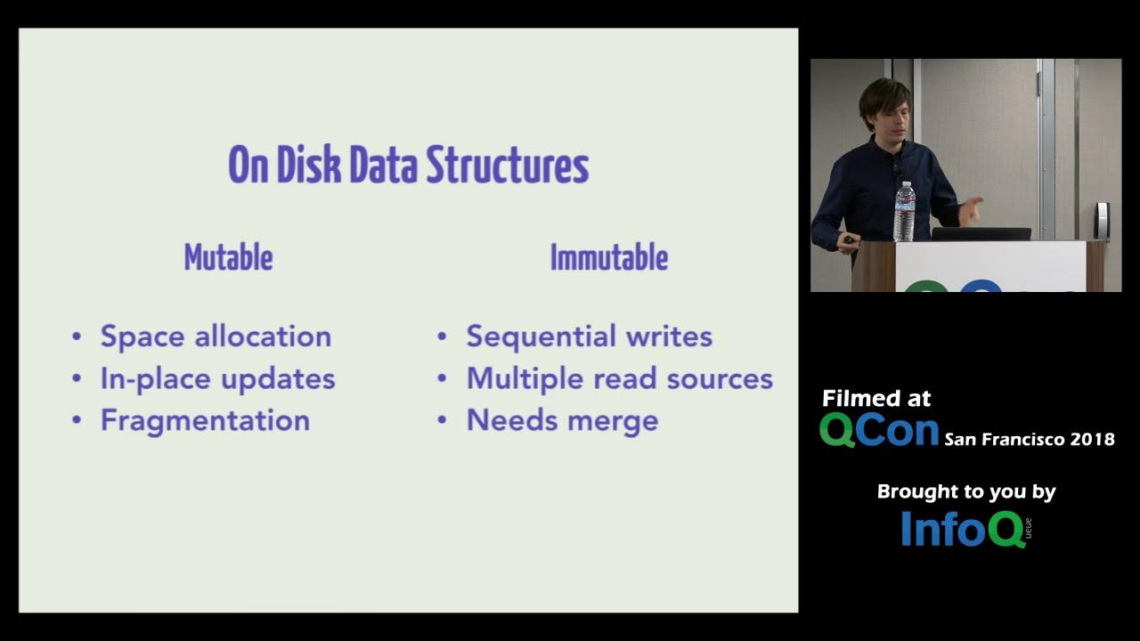 Algorithms Behind Modern Storage Systems Youtube