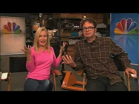 "Rainn Wilson, Angela Kinsey talk final season of ""The Office"" with WPXI"