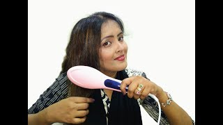 Hair Straightener Brush |Fast Hair Straightener HQT 906 Review |Fast Ceramic Hair Straightener brush