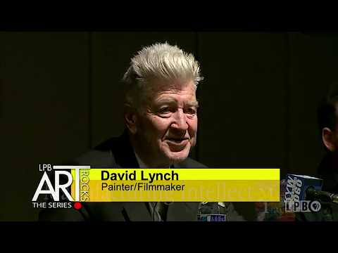 David Lynch on his Early Paintings and Art (2015)