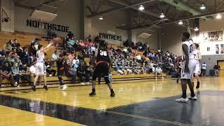 Basketball: Dawson Jackson finishes inside