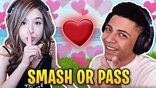 Pokimane respostas mito Smash ou Pass! | Melhores momentos do Fortnite #24