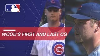 A look at Wood's first and last MLB complete games