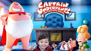 Captain Underpants in Spanish Captain Underpants Escape from School Roblox Obby Kids
