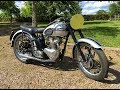 Triumph T100 Factory Race Kit 1951