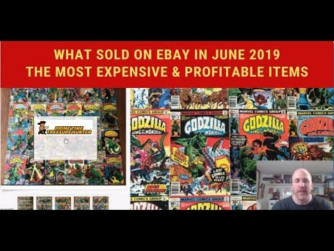 What Sold On Ebay In June 2019 Top 10 Most Expensive Profitable Items Youtube