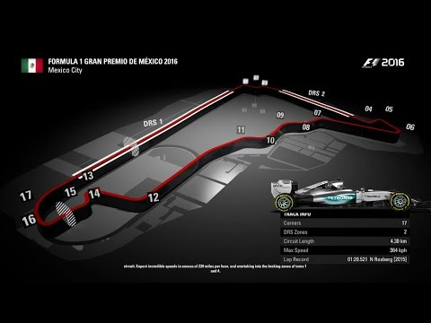 F1 2016 Gameplay - Mexican GP Mexico City (PS4)