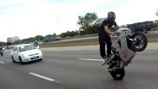 Police vs Motorcycle