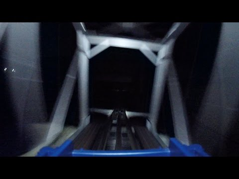 Model Train Roller Coaster POV