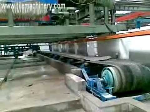 auto filter press, automatic collect the filter plate in ceramic industry