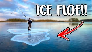 Spin Fishing Among ICE FLOES Team Galant