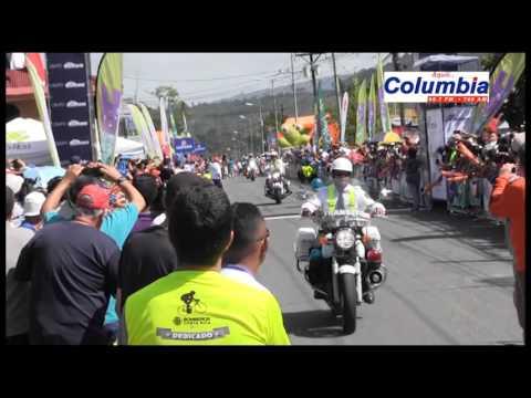 Etapa #8 Vuelta CR 2015, narración Rodolfo Méndez, Radio Columbia