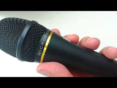 Караоке микрофон для записи на ПК