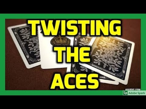 MAGIC TRICKS VIDEOS IN TAMIL #234 I TWISTING THE ACES @Magic Vijay
