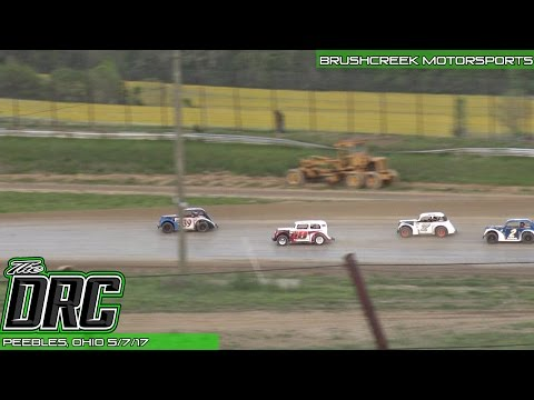 Brushcreek Motorsports Complex | 5.7.17 | Ohio Valley Roofers Legends Car Series | Feature