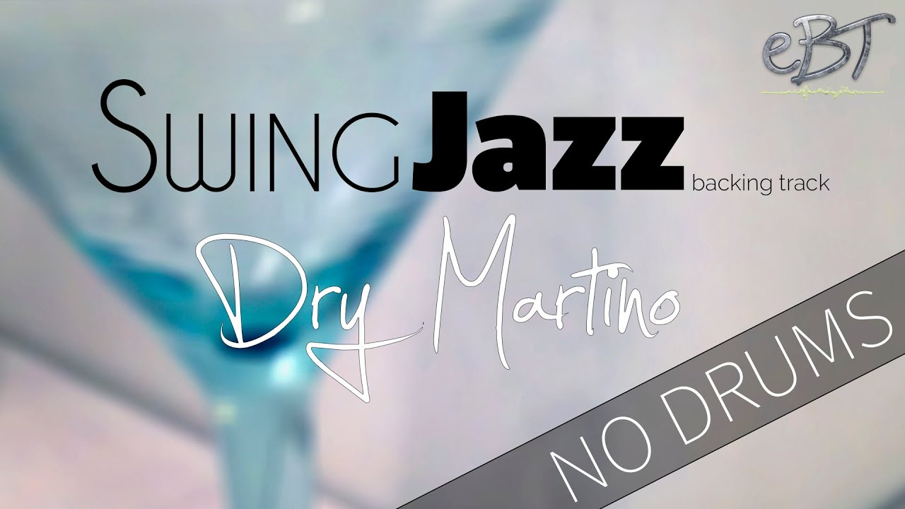 Swing Jazz Backing Track in A Minor | 190bpm [NO DRUMS]