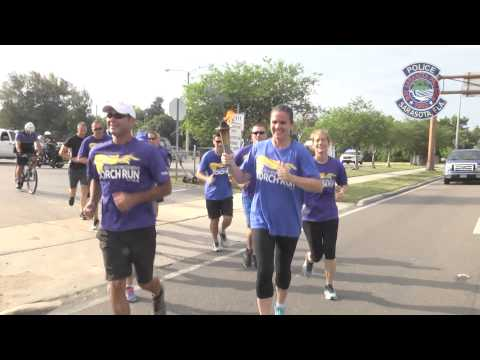 Sarasota Police:  2015 Law Enforcement Torch Run for Special Olympics