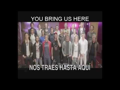 Real Madrid anthem - 'Hala Madrid y nada más' (English-Spanish lyrics)