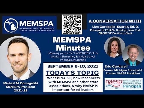 MEMSPA Minutes - Episode 4 (NAESP Discussion) - YouTube