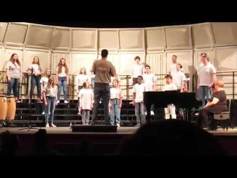 Jay m Robinson high school Choir concert 2019